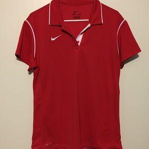EUC Nike Women's Dri-Fit Golf Polo